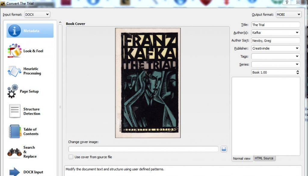 How to make an ebook (Kindle and epub conversion) DIY Book Design